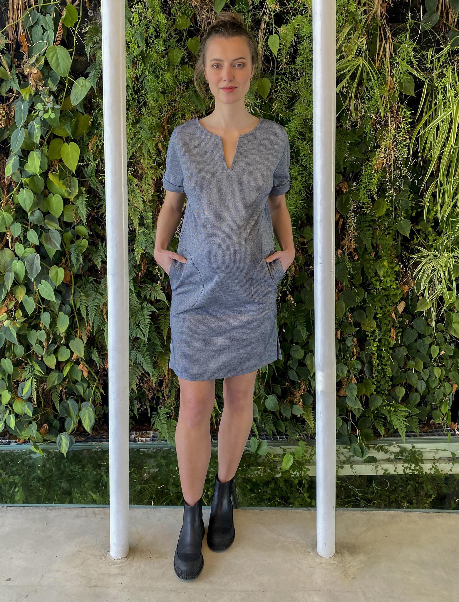 Round Pocket Dress Jeans Sparkle-3