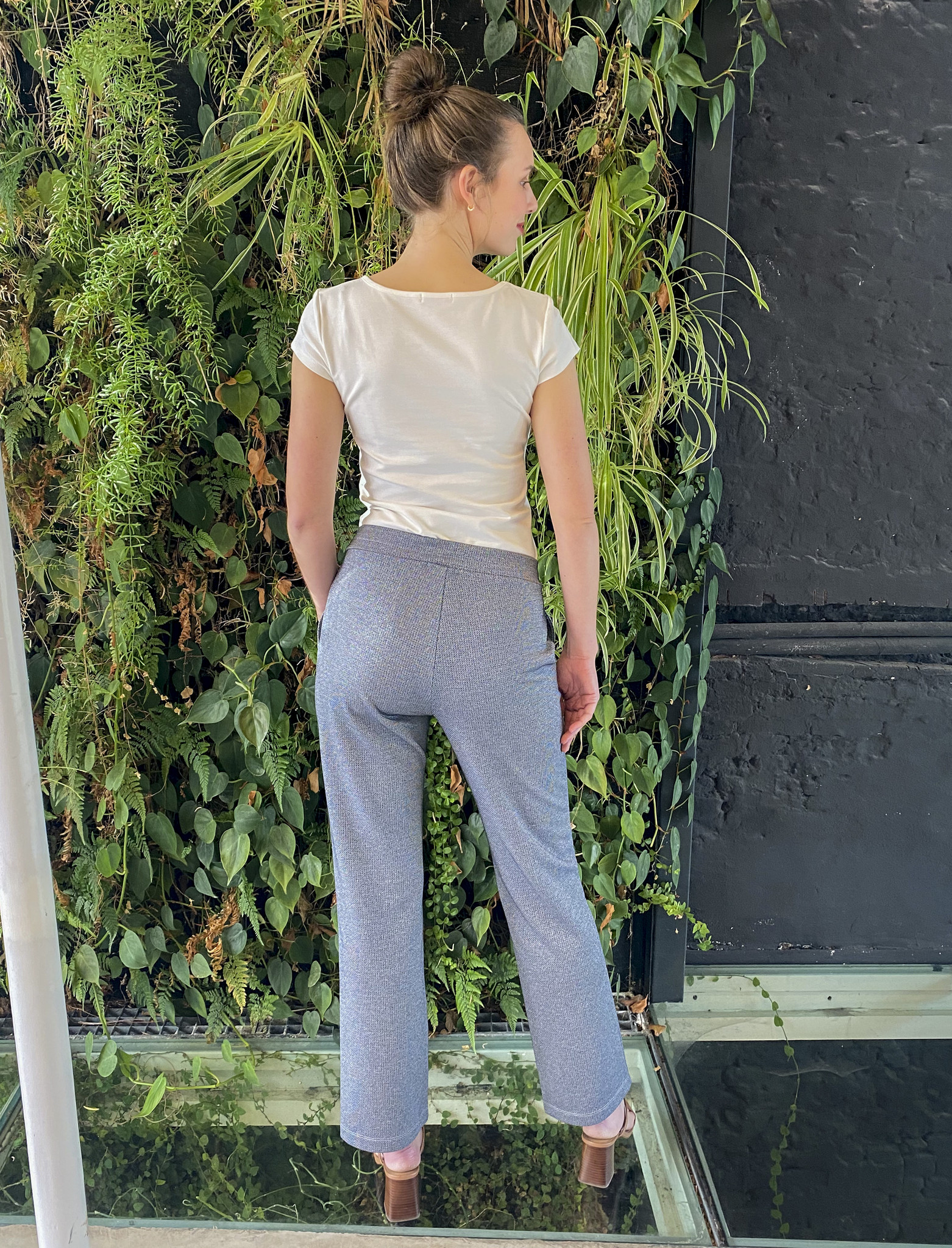 Easy Trousers Straight Fit Jeans Sparkle-3