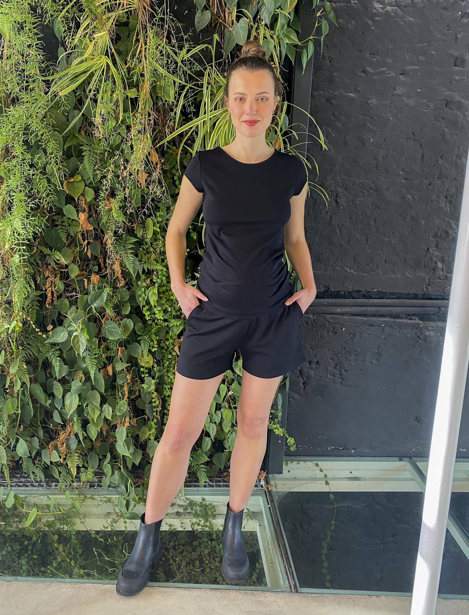 Summer Shorts Black-1