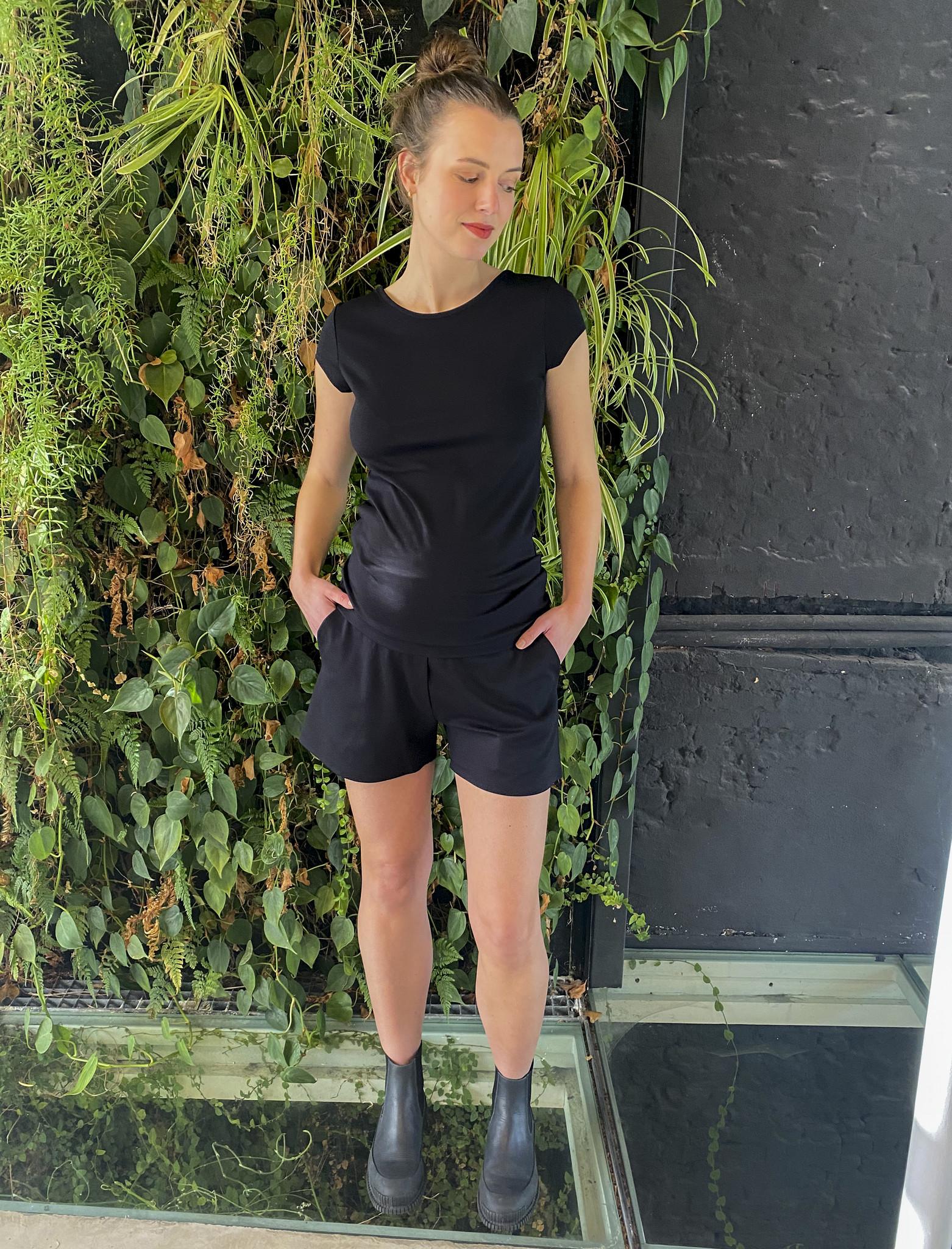 Summer Shorts Black-4