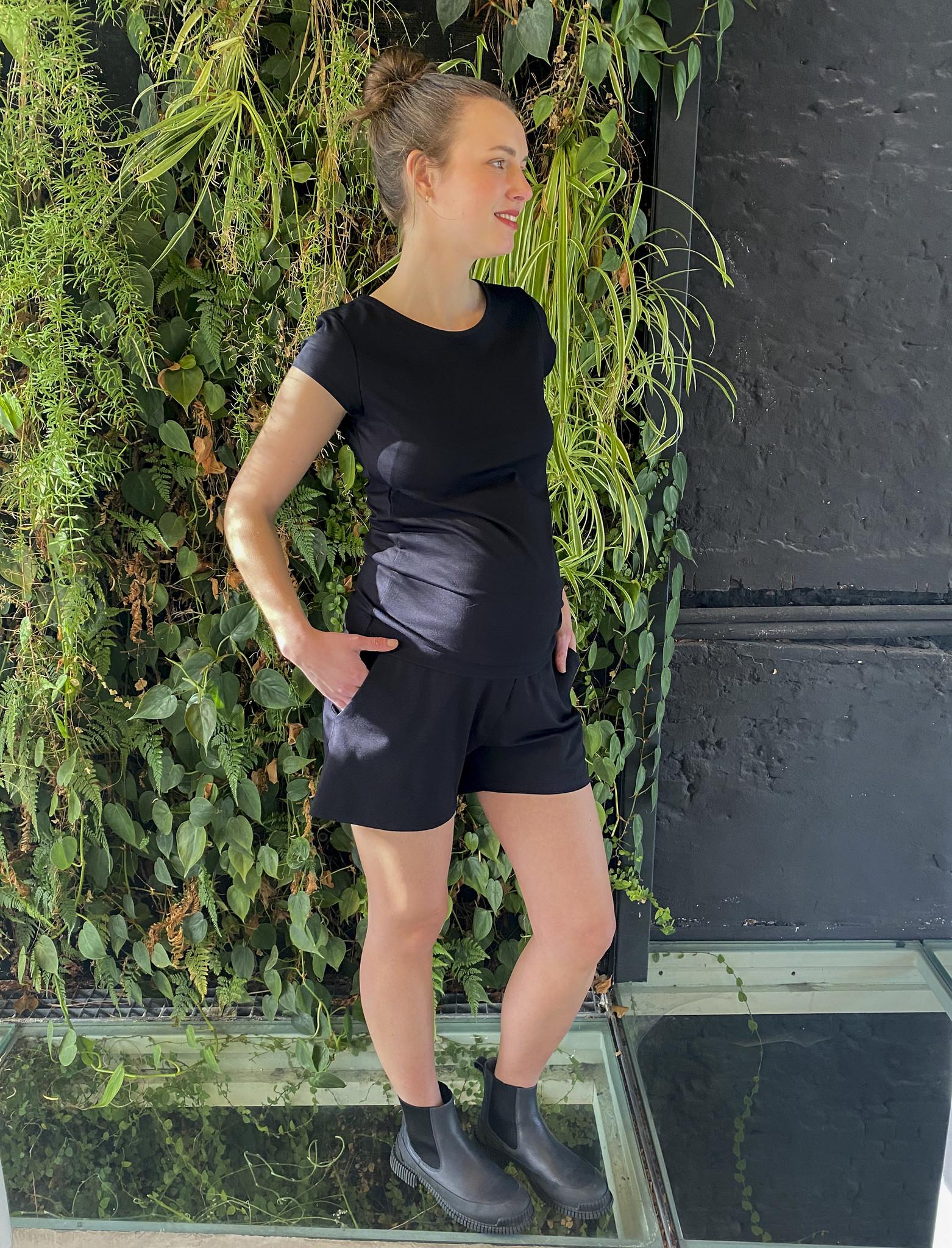 Summer Shorts Black-2