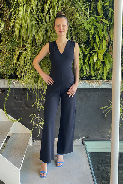 Long Jumpsuit Navy