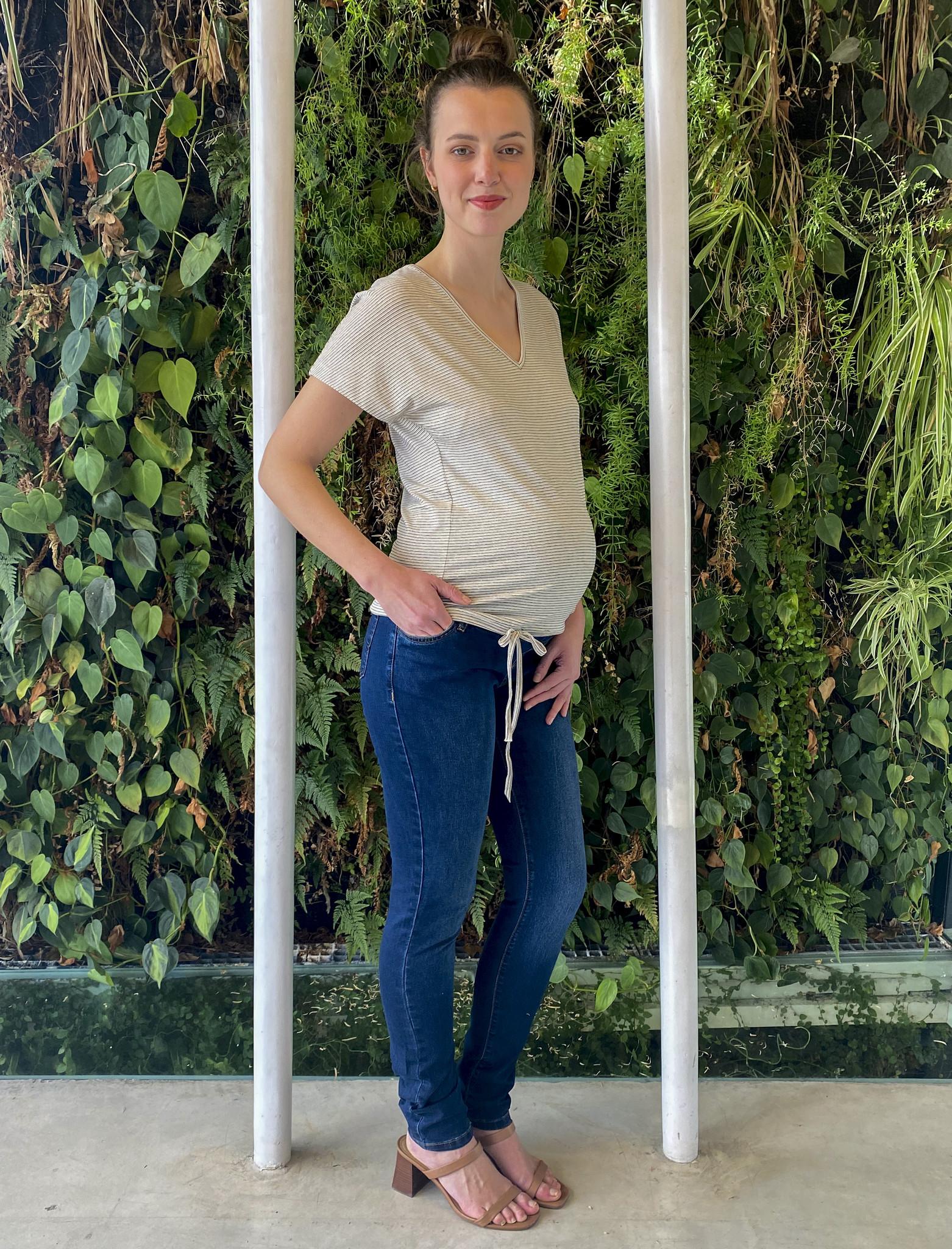Skinny jeans - dark blue denim-2