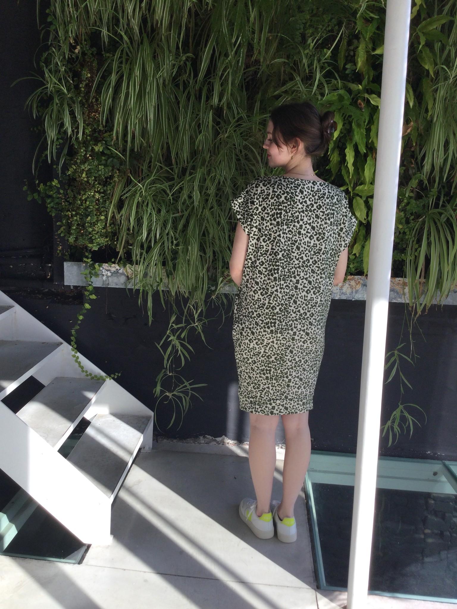 Low Waist Dress Printed Animal-2