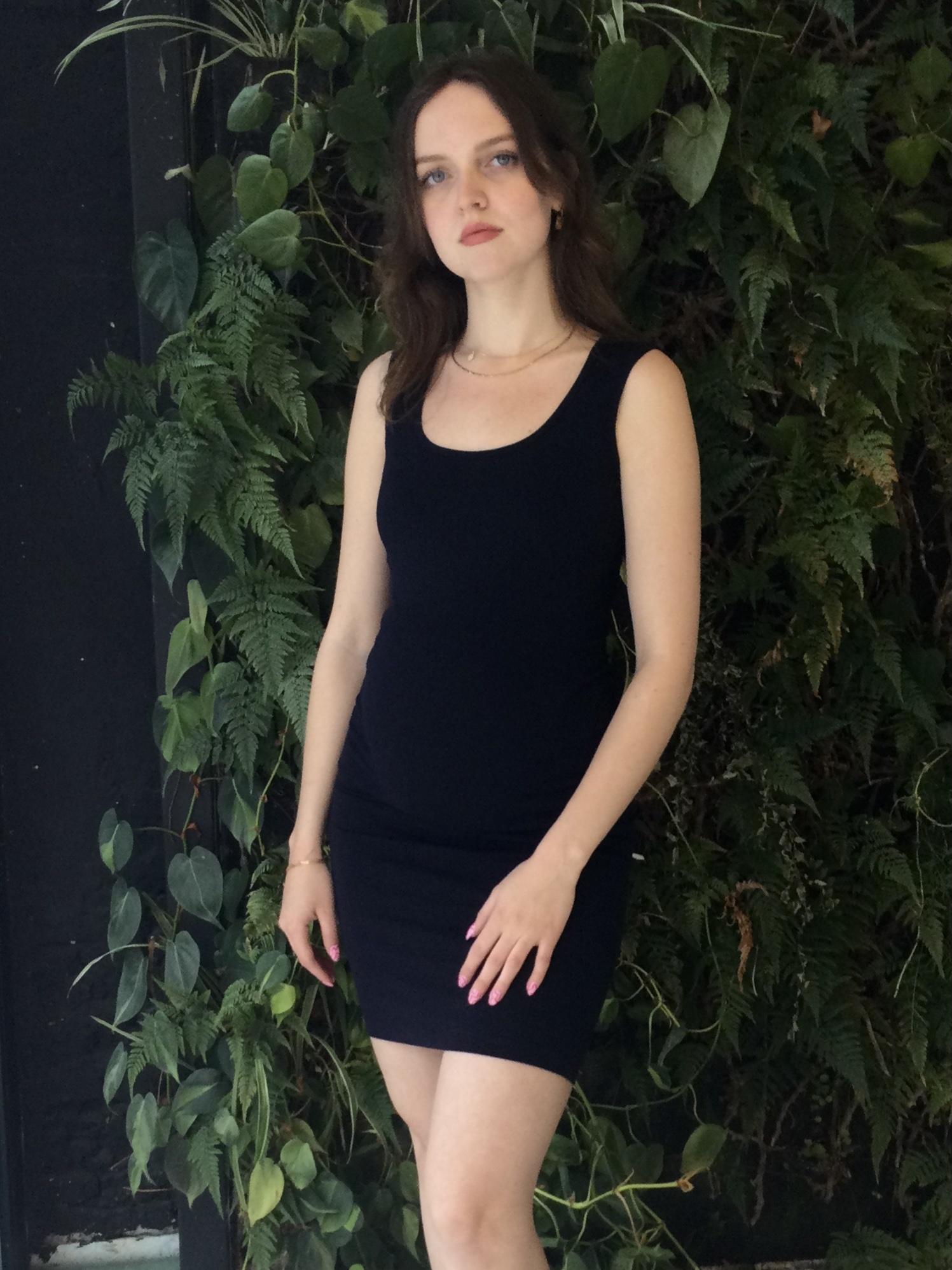 Marcel Dress Black-3