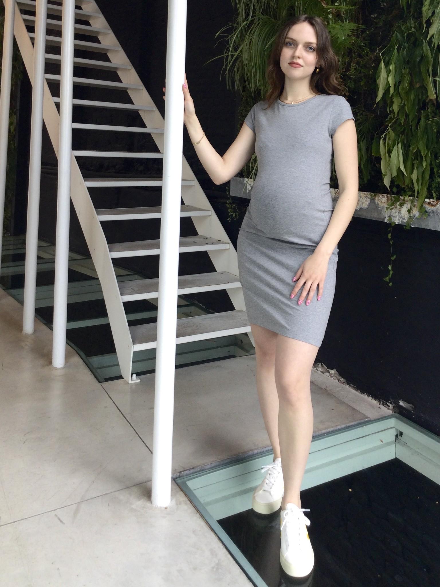 Skinny Dress   Grey Melange-1