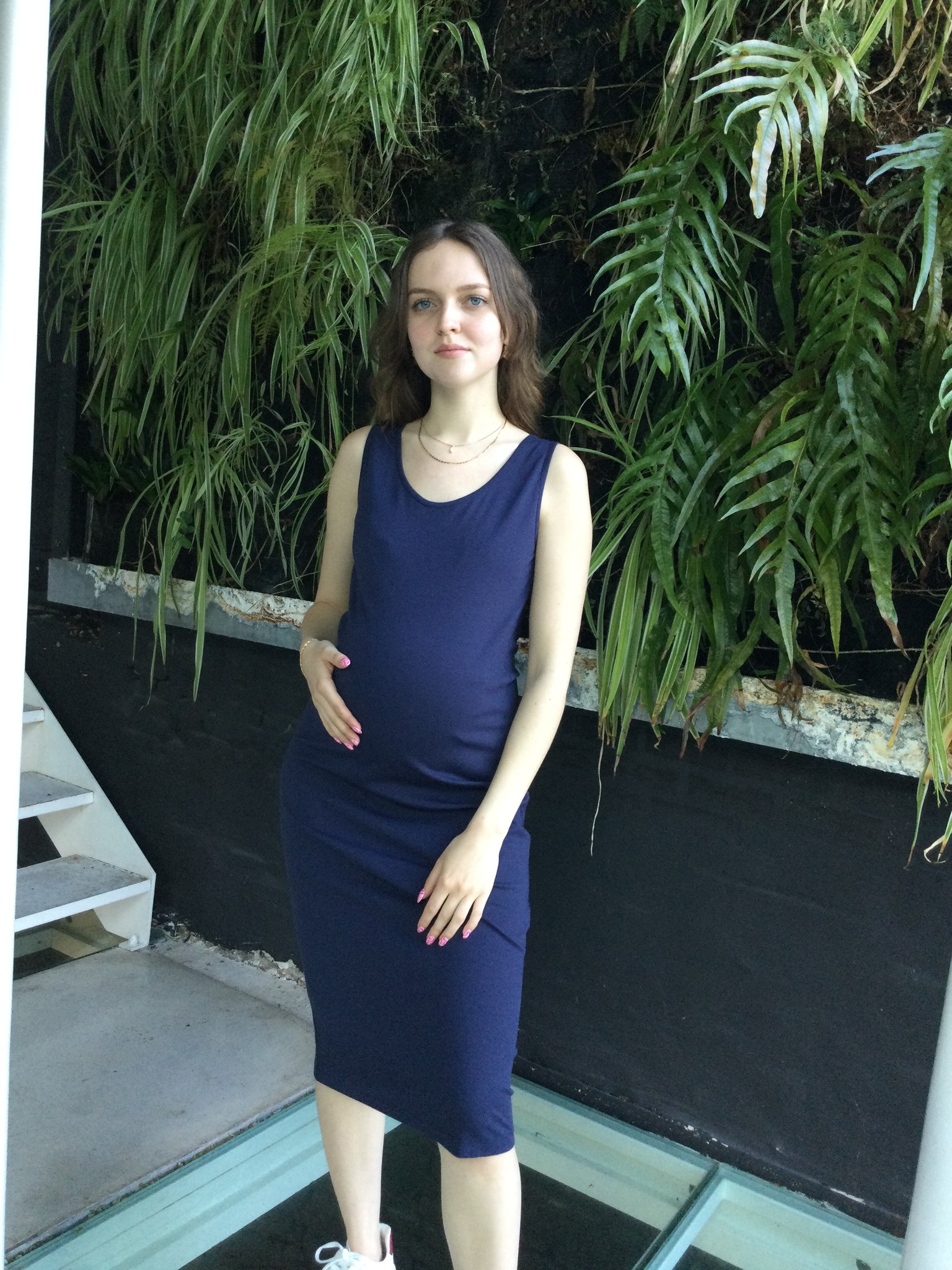 Short Dress Navy-3