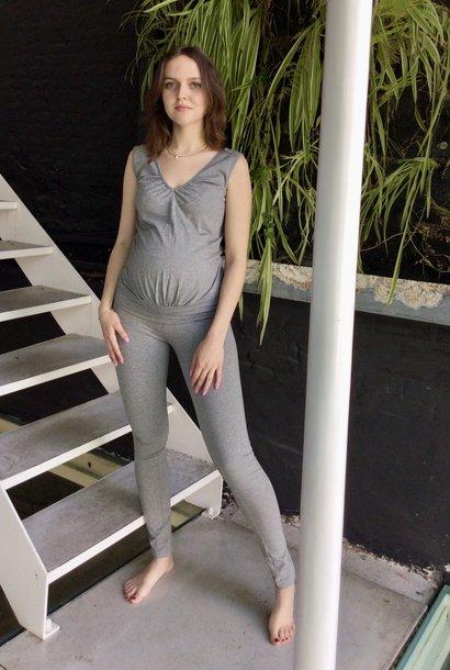 Tight Legging Grey Melange