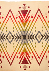 EcuaFina Alpaca native blanket Imbabura 195 cm x 235 cm