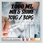 INSANE Tm MIX & SHAKE 1000ML 70VG / 30PG