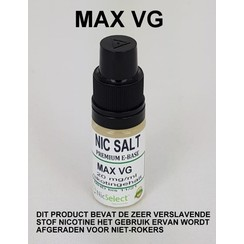 NIC SALT BOOSTER MAX VG