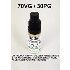 NIC SALT BOOSTER 70 VG 30 PG 10X 10 ML