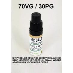 NIC SALT BOOSTER 70 VG 30 PG