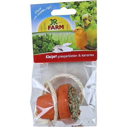 JR Farm JR Farm parkiet & kanarie pot, 80 gram. 08469