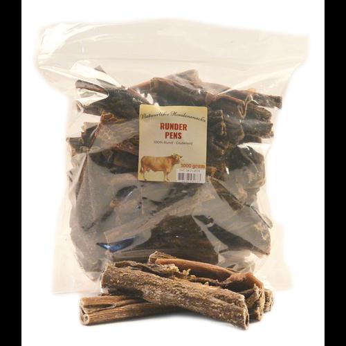 Natuurlijke hondensnacks Runderpens 1000 gram