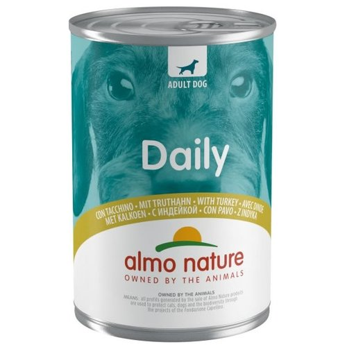 Almo Nature AN Dog Blik Kalkoen 400 gr.