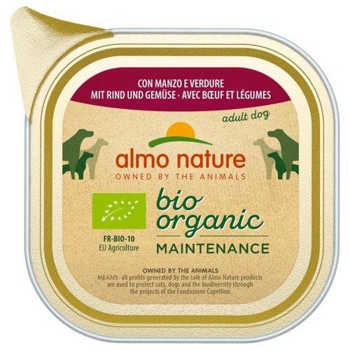 Almo Nature AN Daily Bio Dog Rund &Groenten 100 gr.