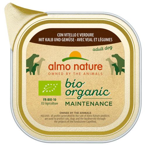 Almo Nature AN Daily Bio Dog Kalf &Groenten 100 gr.