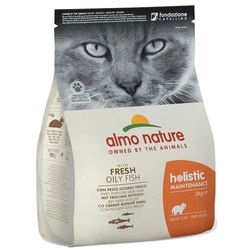 Almo Nature AN Holistic Kat Witvis en Rijst 2 kg.