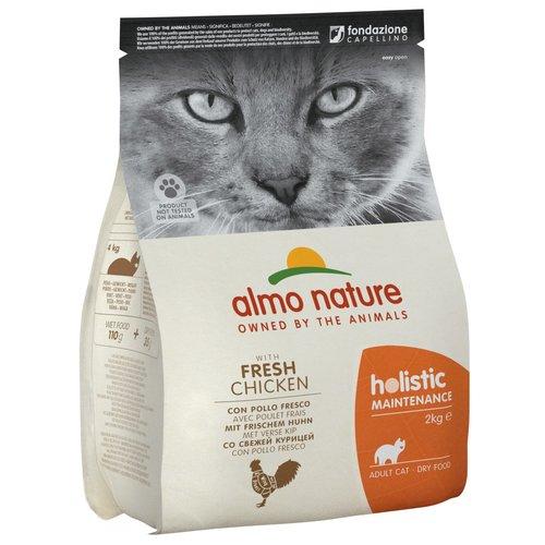 Almo Nature AN Holistic Kat Kip en Rijst 2 kg.