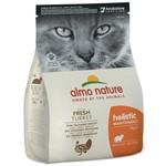 Almo Nature AN Holistic Kat met Kalkoen 2 kg.