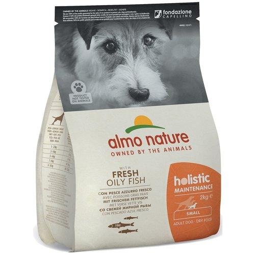 Almo Nature AN Holistic Dog S Witvis & Rijst 2 kg.