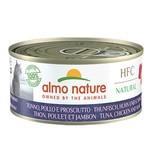 Almo Nature AN Tonijn met Kip en Ham 150 gr.