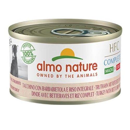 Almo Nature AN Dog HFC Complete Kalkoen Rijst Paardebloem 95 gr.