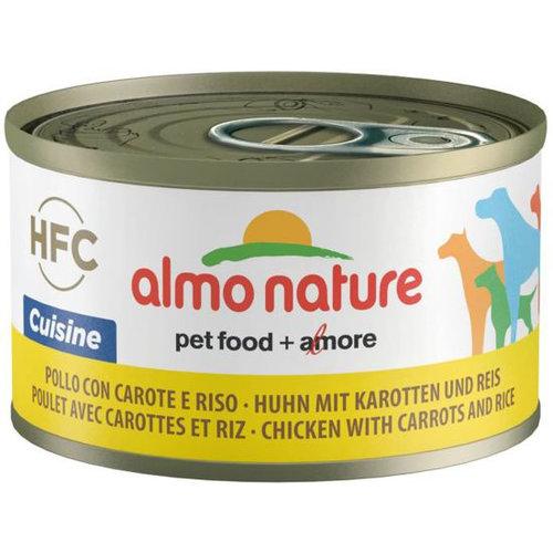 Almo Nature AN Dog HFC Cuisine Kip Worteltjes Rijst 95 gr.