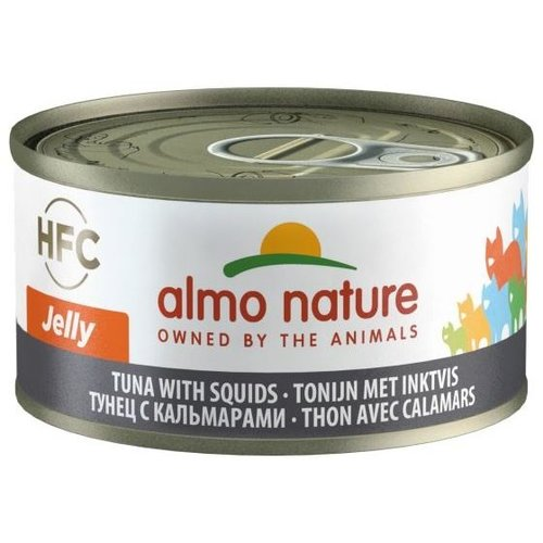 Almo Nature AN Tonijn met Inktvis 70 gr.