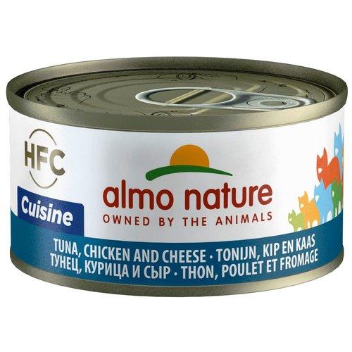 Almo Nature AN Tonijn met Kip en Kaas 70 gr.