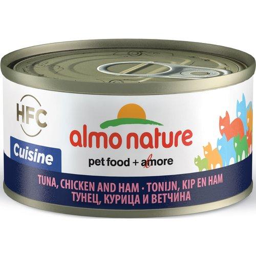 Almo Nature AN Tonijn met Kip en Ham 70 gr.