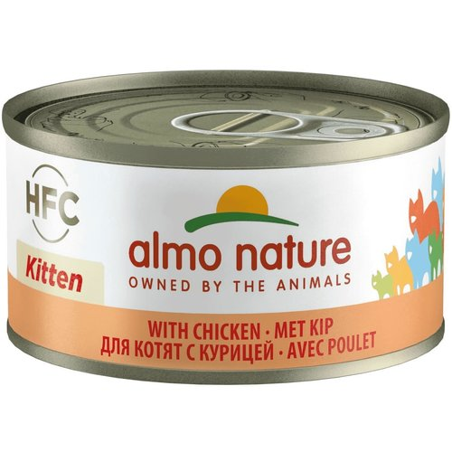 Almo Nature AN Kitten Kip 70 gr.