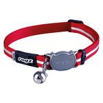 Rogz Beltz AlleyCat Halsband Small Red SMALL