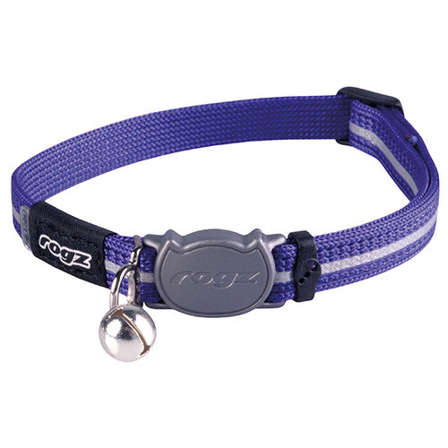 Rogz Beltz AlleyCat Halsband Small Purple SMALL