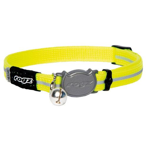 Rogz Beltz AlleyCat Halsband Small Dayglo SMALL