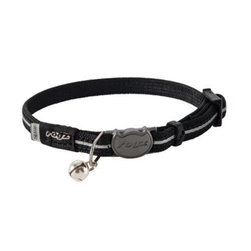 Rogz Beltz AlleyCat Halsband XS Black XSMALL