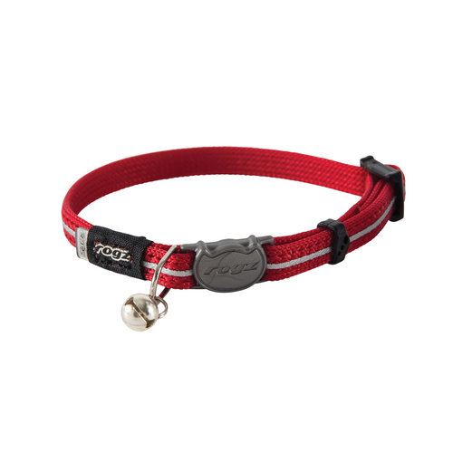 Rogz Beltz AlleyCat Halsband XS Red XSMALL