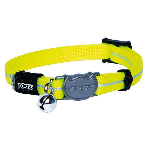 Rogz Beltz AlleyCat Halsband XS Dayglo XSMALL