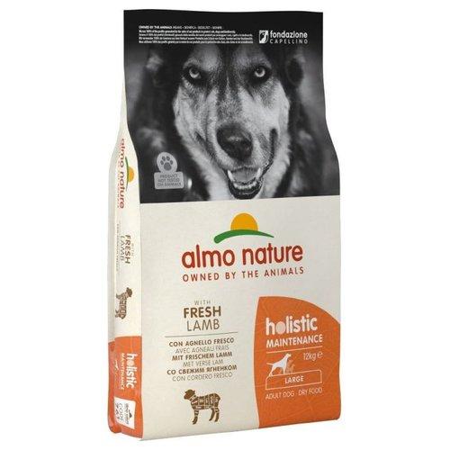 Almo Nature AN Holistic Dog L Lam & Rijst 12 kg.