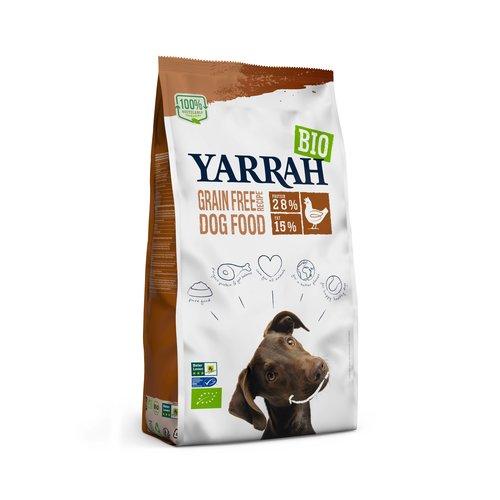 Yarrah Yarrah Hond Chicken & Fish Graanvrij 10 kg.
