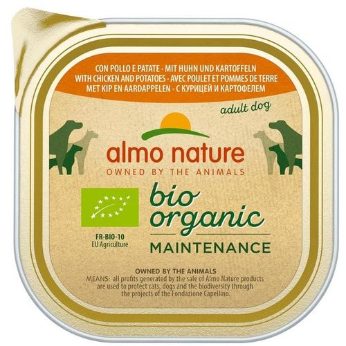 Almo Nature AN Daily Bio Dog Chicken+Patatoes 300 gr.