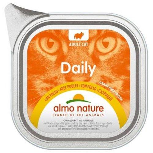 Almo Nature AN Daily Menu Alu met Kip 100 gr.