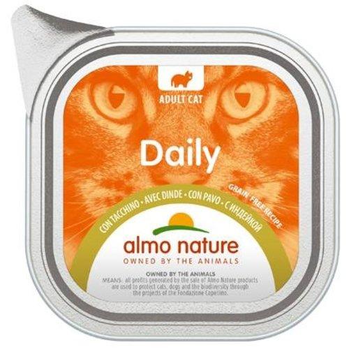 Almo Nature AN Daily Menu Alu met Kalkoen 100 gr.