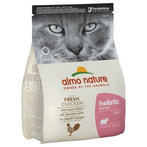 Almo Nature AN Holistic Kat Kitten Chicken&Rice 2 kg.