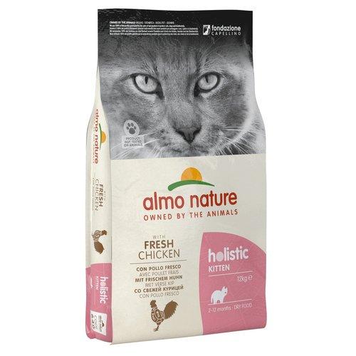 Almo Nature AN Holistic Kat Kitten Chicken&Rice 12 kg.