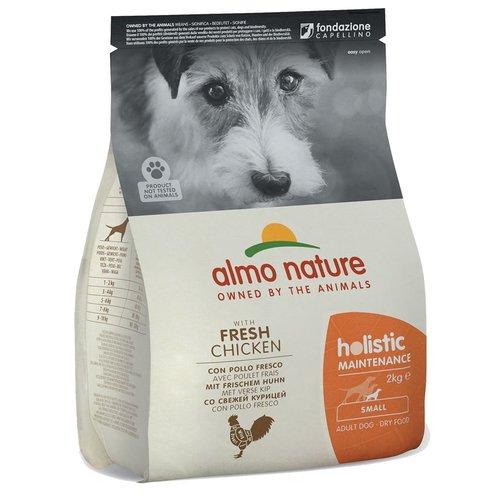 Almo Nature AN Holistic Dog S Kip & Rijst 2 kg.