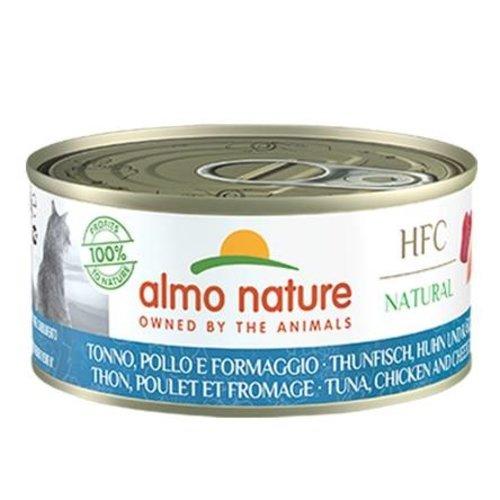 Almo Nature AN Tonijn met Kip en Kaas 150 gr.