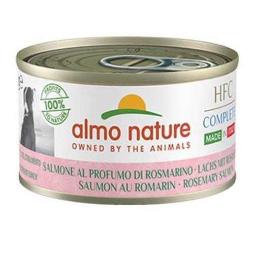 Almo Nature AN Dog HFC Complete Zalm Millet Perzik Kruiden 95 gr.