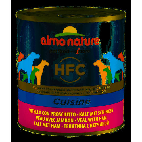 Almo Nature AN Dog Veal+Ham 290 gr.
